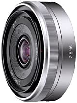 索尼 SEL16F28 E 支架 - APS-C 16mm F2.8 Prime 镜头