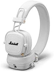 Marshall 马歇尔 Major III 无线蓝牙头戴式耳机,白色——新