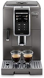 De'Longhi 德龙 Dinamica Plus ECAM 370.95.T 全自动咖啡机 带奶泡系统,一键式制备卡布奇诺/意式浓缩,3.5英寸TFT触摸屏彩色显示器/App控制,咖啡煮壶功