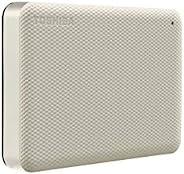 Toshiba 东芝 Canvio Advance 4TB 便携式外置硬盘 USB 3.0,白色 - HDTCA40XW3CA