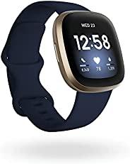 Fitbit Versa 3 – * & 健身智能手表 带 GPS 连续心率测量 语音助手和长达