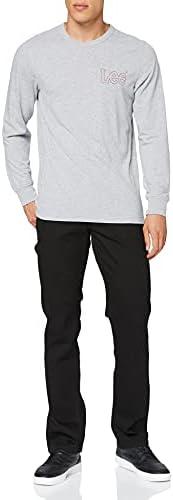 Lee 布鲁克林棕色 l81390wb 男士牛仔裤裤子/长款, 直筒 (直筒裤)