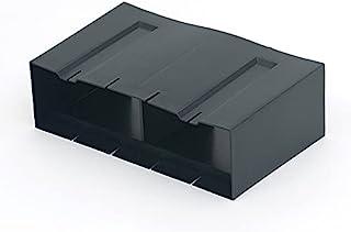 Timloc 20 件装 1203 水平前延长套,适用于伸缩地板下通风器 1201 / 1201XL 黑色