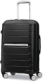 Samsonite 新秀丽 Freeform Hardside 可扩展双旋轮行李箱,黑色,均码