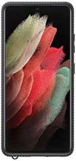 SAMSUNG 三星 Galaxy S21 Ultra 5G 透明保护盖,黑色