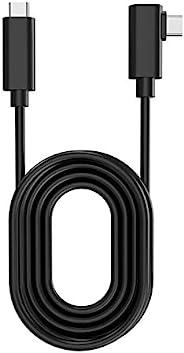 Oculus Link 电缆,兼容 OculusQuest 2 和 OculusQuest VR 耳机,USB C VR 耳机线,C 型至 C 型至 C 型 USB C VR 耳机线快速充电