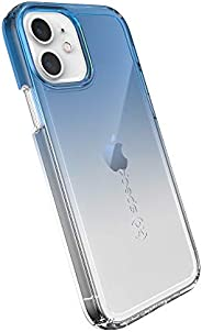 Speck Products Gemshell 印花 iPhone 12、iPhone 12 Pro 手机壳,蓝* / 透明