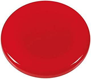 WESTCOTT 粘性磁铁 10件装,30毫米,圆形,红色,E-10818 00