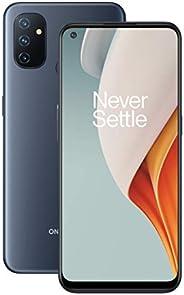 "OnePlus N100 午夜霜 | 6.52"" HD+ 液晶显示屏 | 4GB RAM + 64GB 内存 | 三重相机 | 5000 mAh 电池 | 双SI"