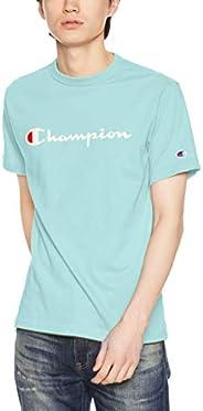 Champion 男士 草写LogoT恤 基础款 C3-P302