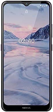 Nokia 诺基亚 2.4 智能手机 带 6.5 英寸 HD+ 显示屏,Portät和夜间模式,电池使用两天电池,指纹传感器,坚固设计,Android 10和Google助手按钮,Dusk