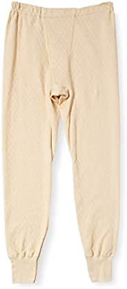 GUNZE 郡是 长款衬裤 前开式 混毛绗缝 男士 RP8402