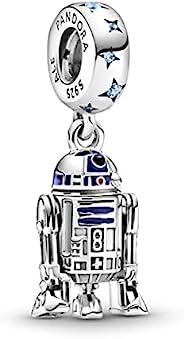 Pandora 潘多拉 星球大战 R2-D2 魅力吊坠 纯银 799248C01