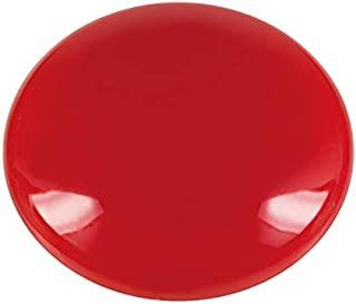 WESTCOTT 粘性磁铁 10件装,25毫米,圆形,红色,E-10810 00