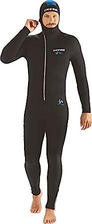 Cressi Diver Man Monpiece 潜水服 7mm 多合一高级氯丁橡胶潜水服