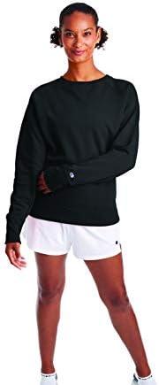 Champion 女式Powerblend圆领运动衫
