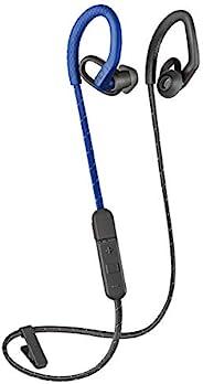Plantronics 缤特力 BackBeat FIT 350 无线耳机,稳定,超轻防汗耳内锻炼耳机,黑色212345-99 蓝色