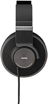 AKG Pro Audio K553 MKII 头戴式封闭录音棚耳机,可折叠,黑色