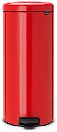 布拉班西亚 灰尘盒 踏板 新标志 激情红 红色 30L 111808