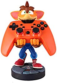 精致游戏电缆家具 - Quantum Crash Bandicoot - Cable Guy 手机和控制器支架
