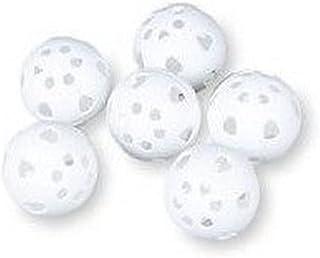 BSN 塑料高尔夫球(6 只装),白色