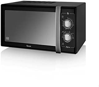 Swan Products Retro Manual Microwave