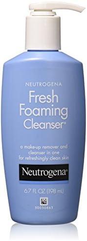 Neutrogena 露得清 清新泡沫洁面乳,6.7 盎司(4 瓶装)