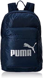PUMA 背包 彪马 经典款 背包 男士 深蓝 牛仔布 (08)