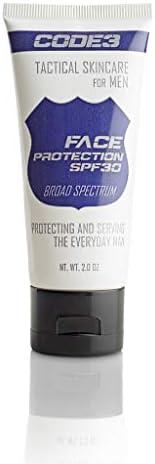 CODE 3 男士面部保护 - Best Oxybenzone 日常保湿*霜,* SPF 30,2 盎司