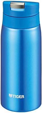 TIGER 虎牌 保温杯 蓝色 350ml 一键开启式 轻量 水壶 SAHARA系列 MCX-A351-AK
