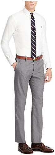 Polo Ralph Lauren 保罗拉夫劳伦男式弹力直筒斜纹棉布裤