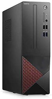 Dell_Vostro 3000 迷你商务台式机,英特尔酷睿i3-10100处理器,高达4.30GHz,4GB内存,1TB硬盘,HDMI,VGA,DVD,802.11ac WiFi 和蓝牙,Win10 Pro w/Santex Pro 配件