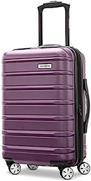 Samsonite 新秀丽 Omni 2 硬壳可扩展行李箱,带万向轮 紫色 Carry-On 20-Inch