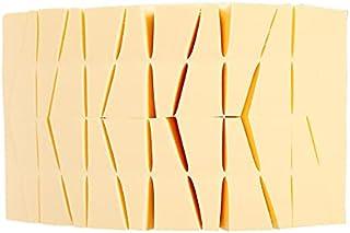 Linbloom 24 件套*海绵搅拌机用于面部污迹、液体霜粉末、万圣节化妆舞会和其他场合三角一次性*海绵 - 原色