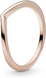 Pandora 潘多拉 186314 女士闪亮祝福戒指 玫瑰金