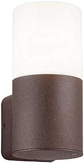 Trio Leuchten 户外壁灯Hoosic 22260124,铝锈色,丙烯酸白色,不含 1 x E27