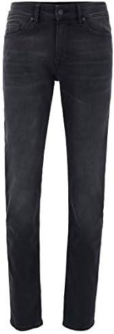 BOSS 男士直筒牛仔裤 Delaware BC-p 黑 33W / 32L