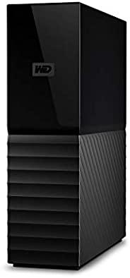 WD 18TB My Book Desktop External Hard Drive, USB 3.0 - WDBBGB0180HBK-NESN
