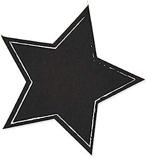efco 3465589 餐桌贴纸,星星,黑色,20厘米