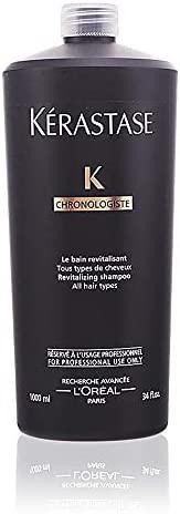 Kerastase 巴黎卡诗 Chronologiste Bain Regenerant 洗发水,34 盎司/1000 毫升