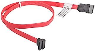 lanberg CA - SASA-12CU-0050-R Sata Data III 插头 (7 针) 连接 Sata Data III 带倾斜插口 (7 极) 电缆 50 厘米 红色
