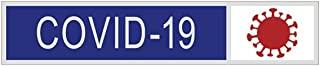 "Smith & Warren 多色 Covid-19 赞誉棒 1-7/8"" x 3/8"" 适用于警察和火线,镍饰面别针"