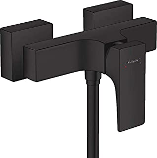 Hansgrohe 汉斯格雅 Metropol 32560670 表面式淋浴混音器水龙头带手柄哑光黑色