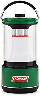 Coleman 600 流明 LED 灯 带电池保护 绿色