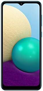 Samsung 三星 Galaxy A02 4G LTE 解锁全球电压(64GB,3GB)6.5 英寸双摄像头双卡(At&t Tmobile Latin Europe)(不适用于 Verizon Boost)国际