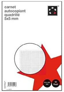 5 Etoiles etl-581750 581750 自复制方形纸 210 x 297 mm 白色 5 件装