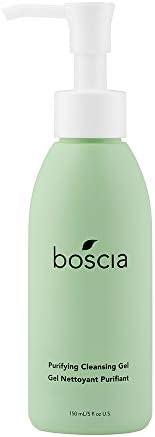 BOSCIA 净化洁面凝胶-素食主义者,无残酷,自然和清洁的护肤品,茶树,5液体盎司,150毫升
