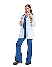 Reina ST2611 拉伸 76.2 cm 长度白色实验室长袖外套