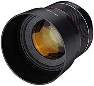 Samyang AF F1.4 人像星空风光建筑 索尼FE卡口 85毫米单反微单固定焦距自动对焦全画幅镜头,适用于索尼E卡口FE底座的索尼Alpha无反光镜和反光数码单反全画幅APS-C相机
