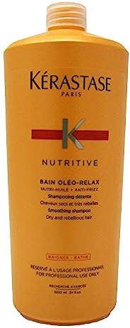 KERASTASE nutritive BAIN oleo-relax 润洗发露(干和 rebellious *) 34 oz